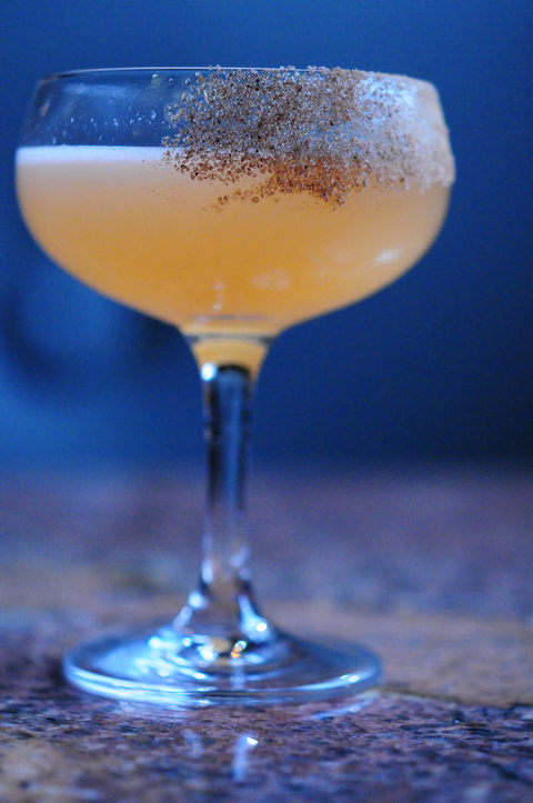 Dutch Crisp recipe by Shaun Meglen of Péché in Austin, TX - 18 Winter Cocktails for the New Year