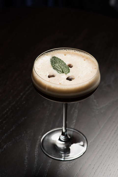 Café Balsamico cocktail recipe from Sage Restaurant Group - Caffeine Culture bar trend