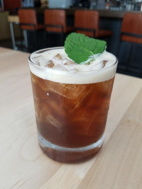Wake-Up Call coffee cocktail from Sage Restaurant Group - Caffeine Culture bar trend