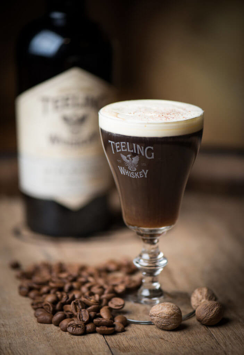 Teeling Whiskey Irish Coffee cocktail - 5 High-Octane Libations for National Irish Coffee Day