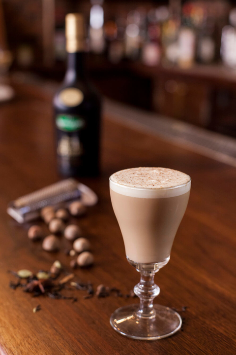 Golden Cuppa chai tea cocktail - 5 High-Octane Libations for National Irish Coffee Day