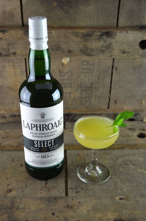 Laphroaig Last Laph cocktail - International Scotch Day recipes