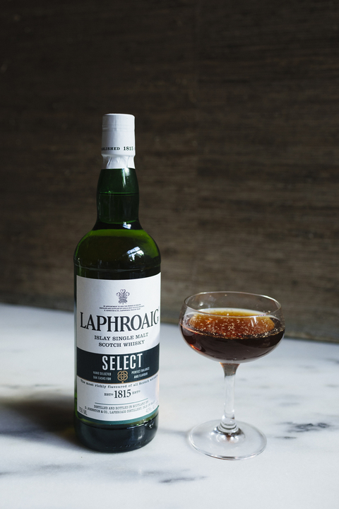 Laphroaig ​End of the Day cocktail - International Scotch Day recipes