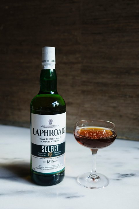 LaphroaigEnd of the Day cocktail - International Scotch Day recipes