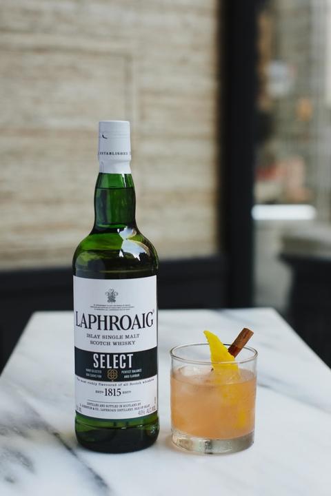 LaphroaigBroadbay Sour cocktail - International Scotch Day recipes