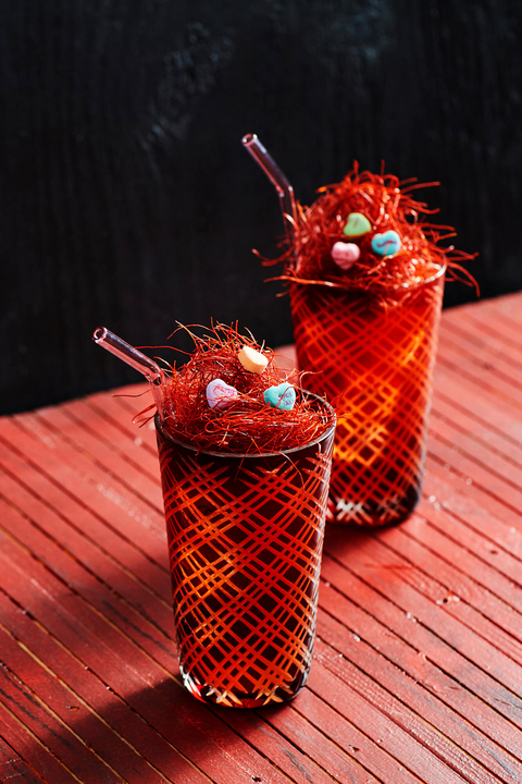 The Love Nest cocktail by Absolut Vodka - 26 Valentine's Day Cocktails