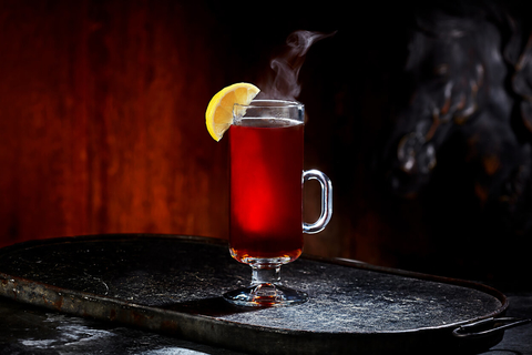 Rooibos Toddy cocktail from the FACUNDO Rum Collection - 26 Valentine's Day Cocktails