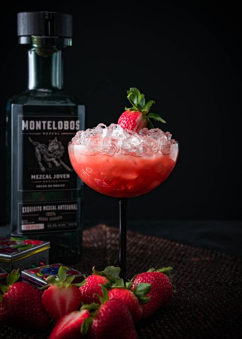 Smoke & Flowers cocktail by Montelobos Mezcal - 26 Valentine's Day Cocktails