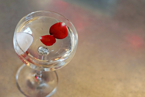 Stop and Smell the Cocktails drink by Nick Farrell at Iron Gate in Washington, D.C. - This Valentine's Day Bar Promotion Sets Guests' Hearts Aflutter