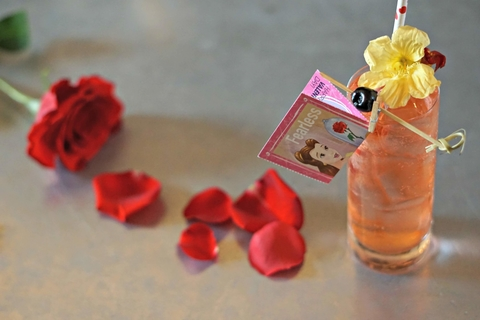 You Complete Me cocktail by Nick Farrell at Iron Gate in Washington, D.C. - This Valentine's Day Bar Promotion Sets Guests' Hearts Aflutter