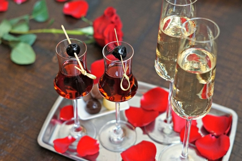 Galentine's Day cocktail at Iron Gate in Washington, D.C. - This Valentine's Day Bar Promotion Sets Guests' Hearts Aflutter