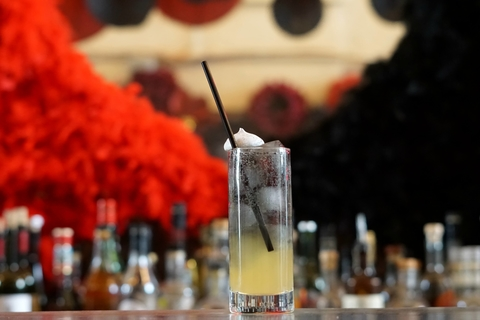 The Tell-Tale Heart cocktail at Iron Gate in Washington, D.C. - This Valentine's Day Bar Promotion Sets Guests' Hearts Aflutter