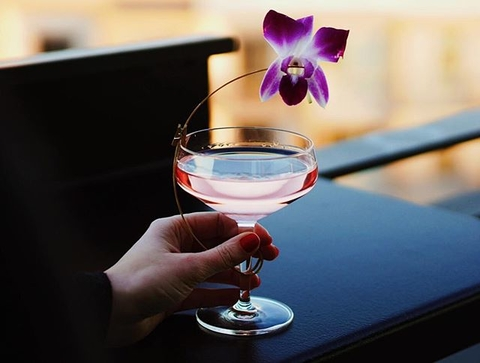 Femme Fatale cocktail at El Five in Denver, Colorado - How to Curate Your Instagram Presence