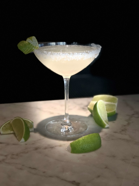 The Rosella Margarita by Jesse Torres of Rosella at the Rand - Celebrating National Margarita Day