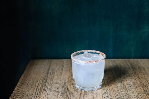 Mezcal Margarita from La Loncheria -