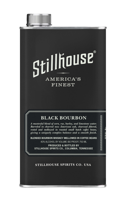Stillhouse Spirits Co. launches Stillhouse Black Bourbon in matte black can with support from G-Eazy