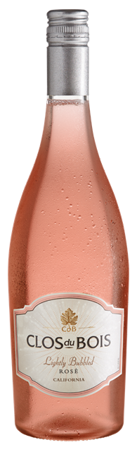 Clos du Bois Lightly Bubbled Rosé California wine