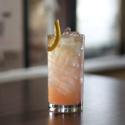 Prizefight Whiskey Bloody Fight cocktail -