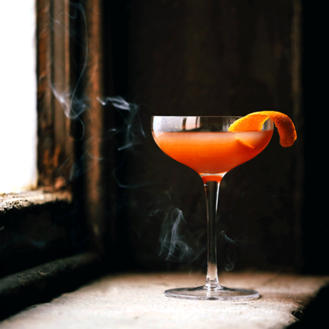 Prizefight Whiskey Blood & Sand cocktail -