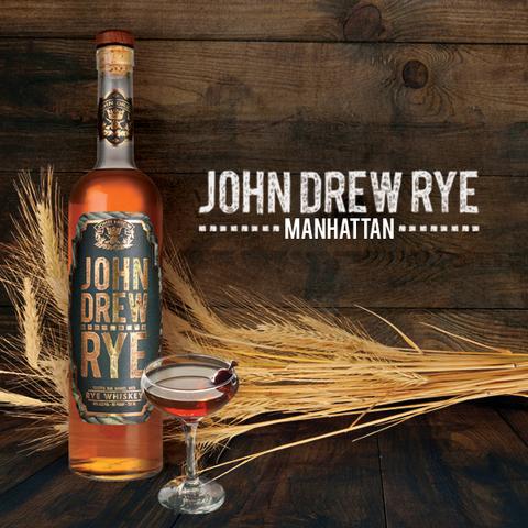 John Drew Brands Rye Manhattan cocktail -