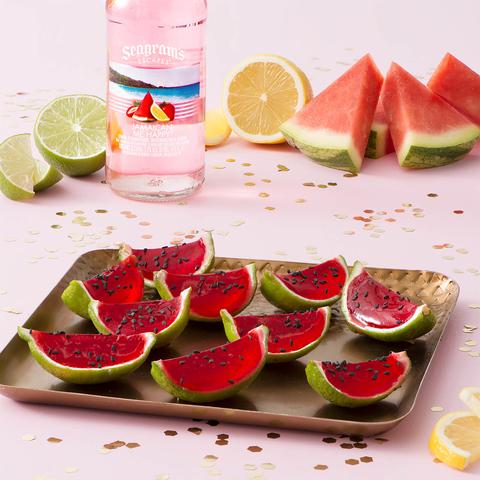 Seagram's Escapes Jamaican Me Happy Watermelon Slice Shooters -