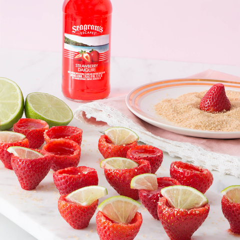 Seagram's Escapes Strawberry Daiquiri Jelly Shooters -