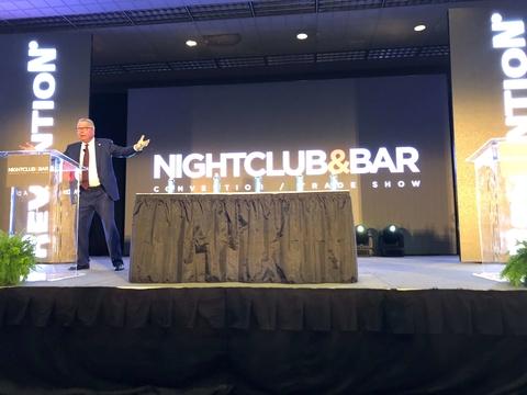 Ron Jaworksi keynote at 2018 Nightclub & Bar Show
