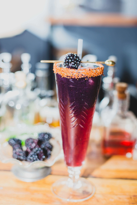 ​​​​Blackberry Michelada at La Contenta NYC and La Contenta Oeste