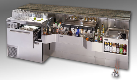 Pre-configured Tobin Ellis Signature Cocktail Station from Perlick -