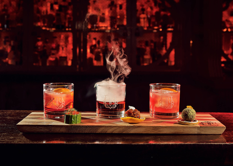 The Flatiron Room Negroni Week Negroni flight