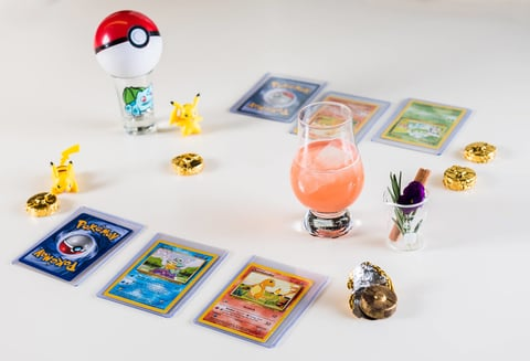 barmini Washington, D.C. Gotta Catch 'Em All Pokémon cocktail
