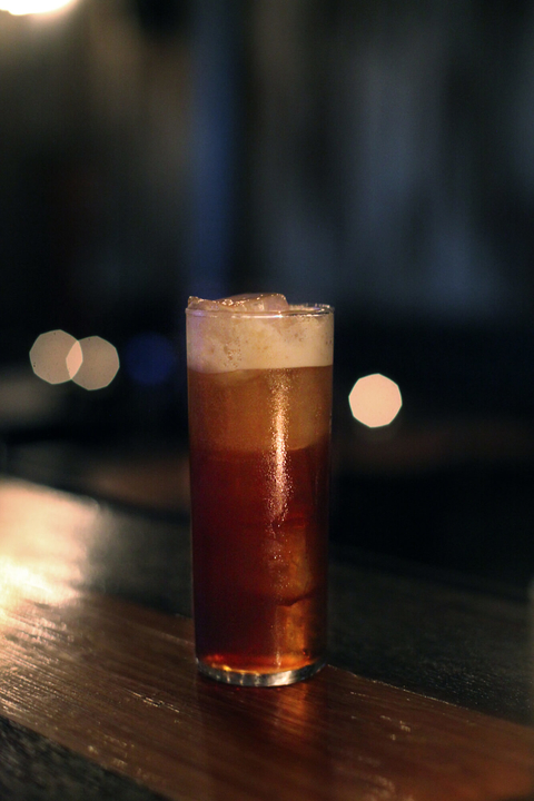 Topo Chino cold brew coffee cocktail by Thomas Thompson of Barrel Proof