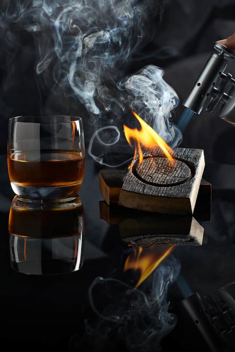 Smoke cocktail at Sage restaurant inside ARIA Resort & Casino Las Vegas
