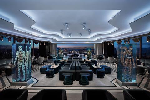 Interior of Apex Social Club at Palms Casino Resort in Las Vegas -