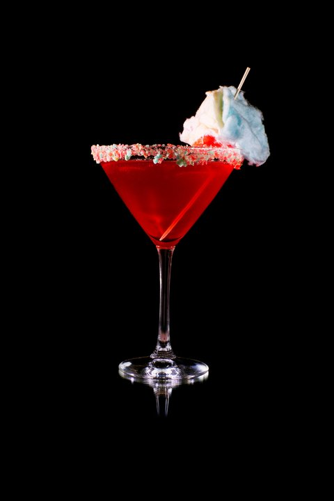 Cotton Candy Cosmo at Sugar Factory