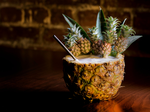 Patrón Mini Pineapple Piña Colada by Cody Goldstein for the The Fat Monk