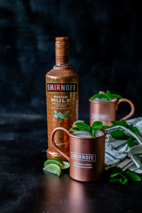 The Reinvented Moscow Mule cocktail