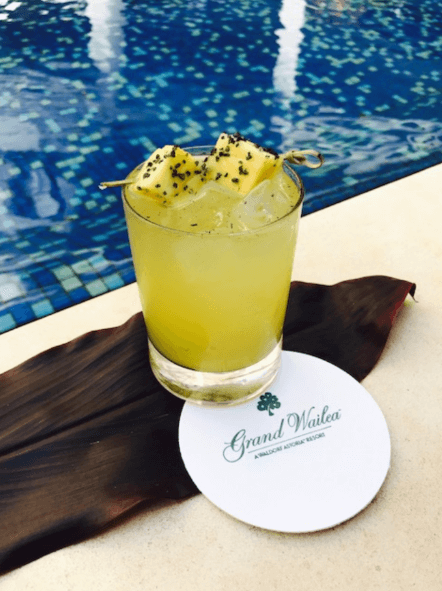 The Smoking Lady cocktail at Grand Wailea by John Toigo