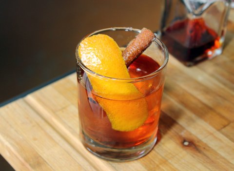 Recipe for Toasted Old Fashioned by Mercedes O'Brien at Gunshow in Atlanta
