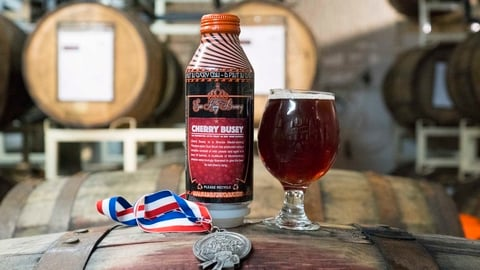 Sun King Brewing Cherry Busey beer