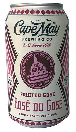 DC Brau and Cape May Brewing Co. Rosé du Gosé