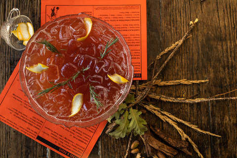 Gobble This fall and Thanksgiving shareable cocktail at Punch Bowl Social