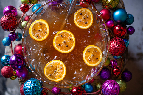 Naughty or Spice? winter and Christmas shareable cocktail at Punch Bowl Social