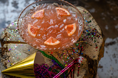 L'Année Rose New Year's Eve shareable cocktail at Punch Bowl Social