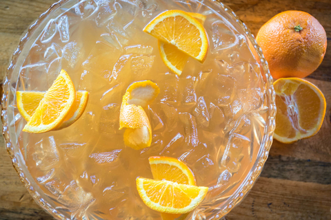 It's a Mer-Man's World shareable cocktail at Punch Bowl Social