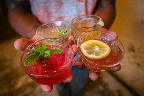 National Punch Day limited-time offer single serve punch cocktails at Punch Bowl Social