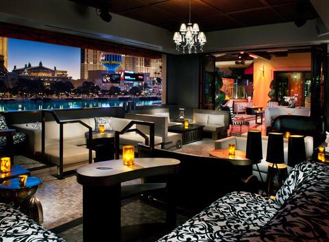 MORE Las Vegas VIP area inside HYDE Bellagio