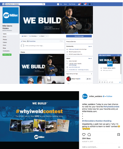 Miller: We Build campaign