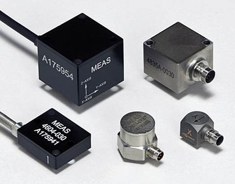 Static and dynamic accelerometers for plug and play applications.