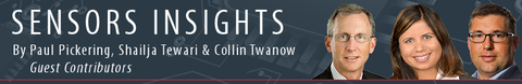 Sensors Insights by Paul Pickering, Shailja Tewari & Collin Twanow
